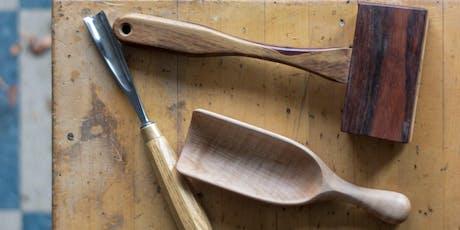 Carve a Wooden Grain Scoop tickets