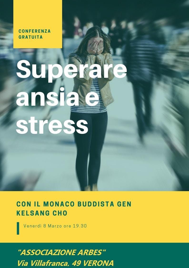 """Conferenza gratuita """"Superare ansia e stress"""""""