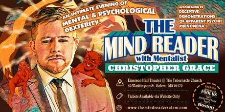 The Mind Reader with Christopher Grace tickets