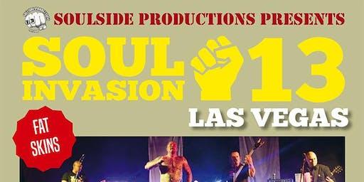 Soul Invasion Weekender - Templars  - Fatskins - Djs