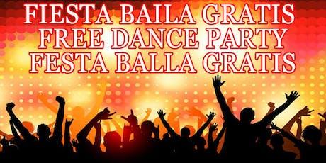 GRATIS VERBENA SANT JOAN FIESTA BAILA GRATIS - FREE DANCE PARTY entradas