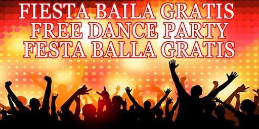 GRATIS VERBENA SANT JOAN FIESTA BAILA GRATIS - FREE DANCE PARTY