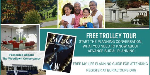 FREE TROLLEY TOUR: What You Need To Know About Advance Burial Planning