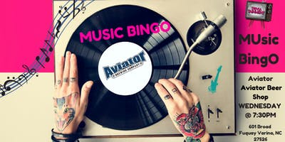 MUsic BingO @ Aviator Beer Shop