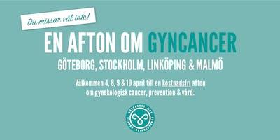 En afton om gyncancer – Linköping 9 april