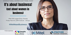 It's about business! (not about women in business) -...