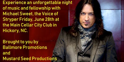An Evening With Michael Sweet, The Voice of Stryper