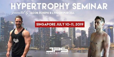 JPS Hypertrophy Seminar (Singapore) tickets