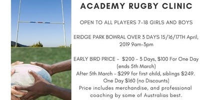 Longhorns Rugby Academy Holiday Rugby Clinic