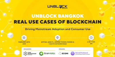 Unblock Bangkok - Real Use Cases of Blockchain: Dr