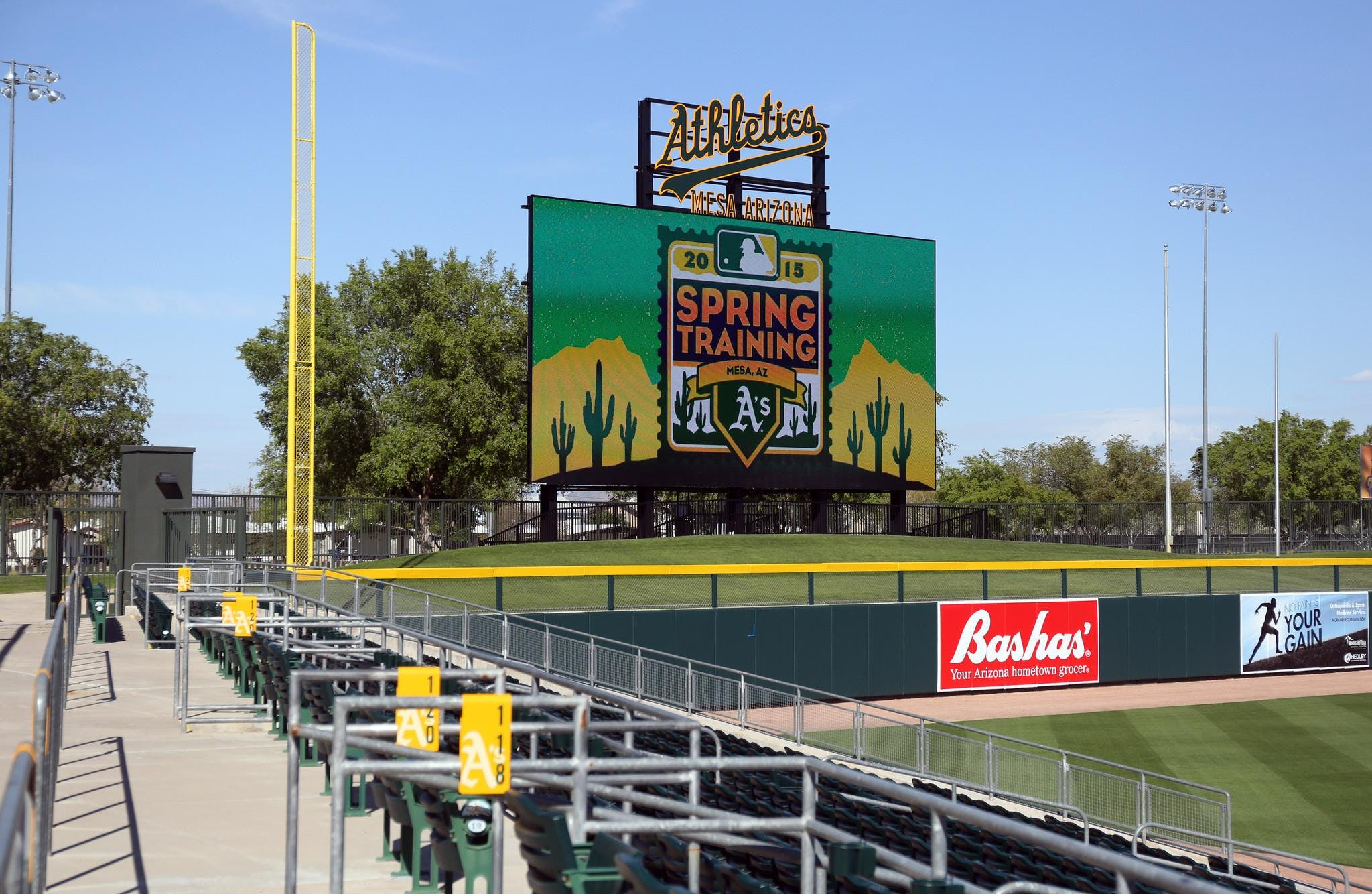 SBA Oakland A's Event & Game