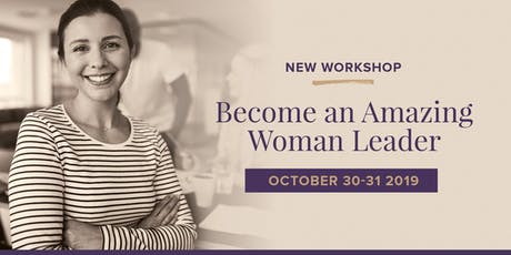 Become an amazing woman leader - Face to Face (Canberra) tickets