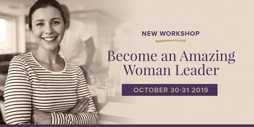 Become an amazing woman leader - Face to Face (Canberra)