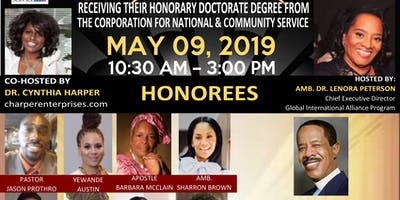 The Global Of International Alliance Honorary Doctorate Celebration 2019
