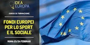 Workshop: I Fondi Europei Per Lo Sport E Il Sociale