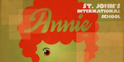 SJIS MS Production of Annie Jr.