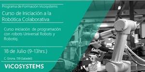 Curso de Iniciación a la Robótica Colaborativa...