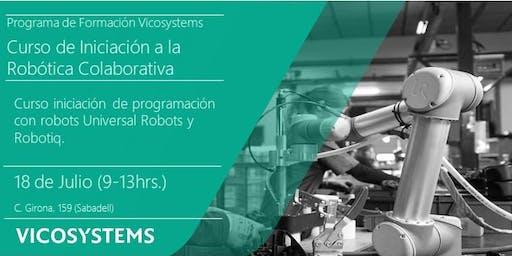 Curso de Iniciación a la Robótica Colaborativa 18.07.2019