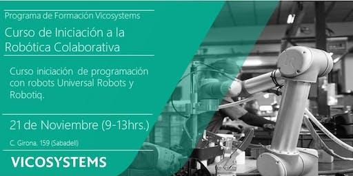 Curso de Iniciación a la Robótica Colaborativa 21.11.2019
