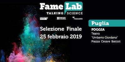 FameLab Italia 2019 - Finale Pugliese