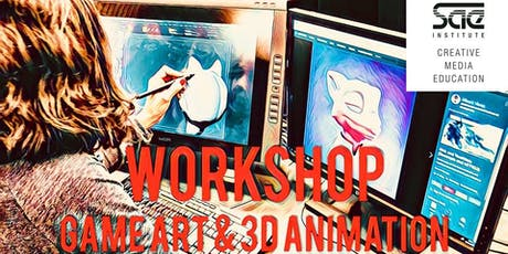 Workshop: Visual Storytelling with Uwe Heinelt: Game Art & 3D Animation (ENGLISH) Tickets