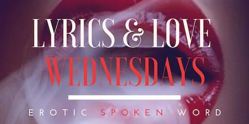 Lyrics & Love Wednesdays(Formerly FLOetry) Erotic Poetry/Adult Games @ Mooneys Lounge