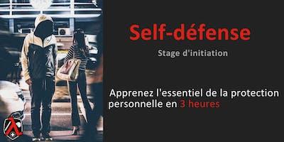 Initiation à la self-défense