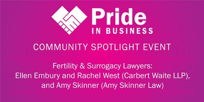 Pride In Business Community Spotlight: Ellen Embury, Rachel West & Amy Skinner
