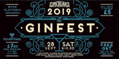 Peculiar Gin Festival 2019 tickets