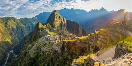 The Inca Trail to Machu Picchu 2020 - Registration. ingressos