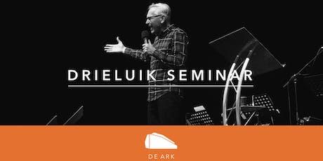Drieluik seminar: Intimiteit, identiteit en autoriteit tickets