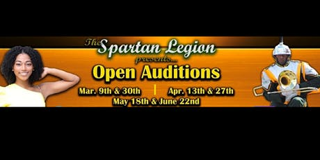 Spartan Legion  - Auditions 2019 tickets