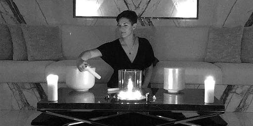 Crystal Bowl Sound Bath Meditation In The Penthouse At The Mandrake