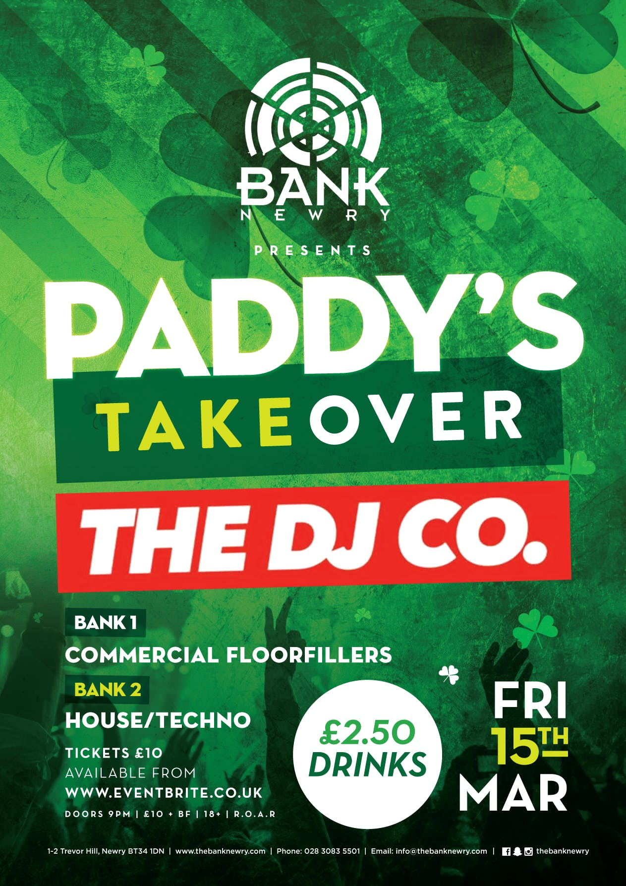 ☘️ PADDY'S TAKEOVER ☘️