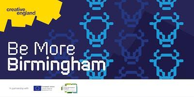 Register your interest for Be More Birmingham