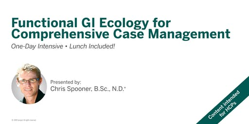 Functional GI Ecology for Comprehensive Case Management - Vancouver, BC