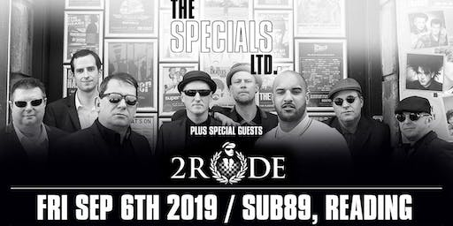 The Specials Ltd + 2Rude (Sub89, Reading)
