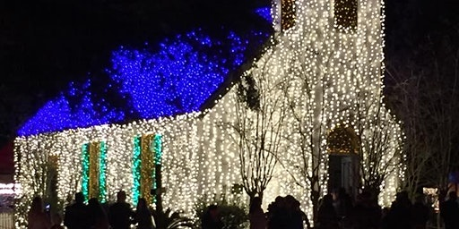 Private WoodmenLife Family Christmas Lights at Acadian Village