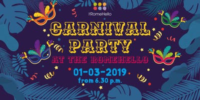 CARNIVAL PARTY at The RomeHello hostel