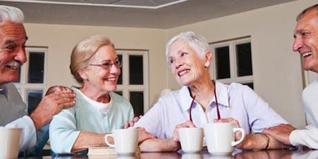 Seniors Social Morning at the Lake tickets