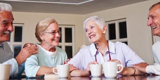 Seniors Social Morning at the Lake