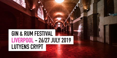 The Gin & Rum Festival - Liverpool - 2019 tickets