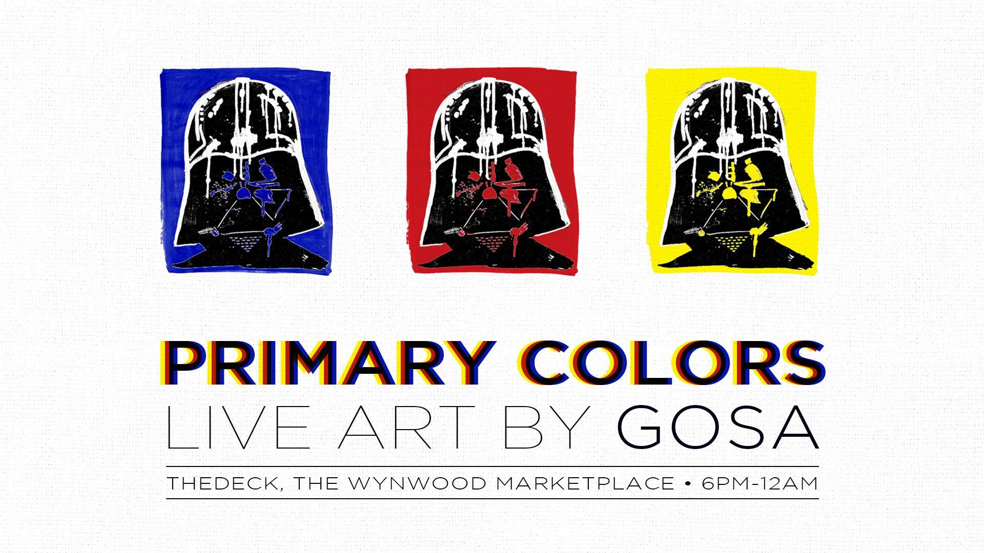 Primary Colors at thedeck