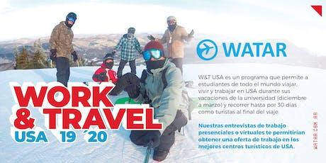 Work&Travel USA - Charla informativa en Palermo entradas