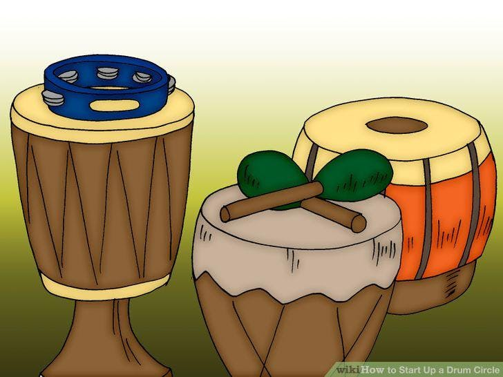 """Spring Group Lesson- """"Drum Circle"""""""