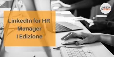 LinkedIn for HR Manager I Edizione