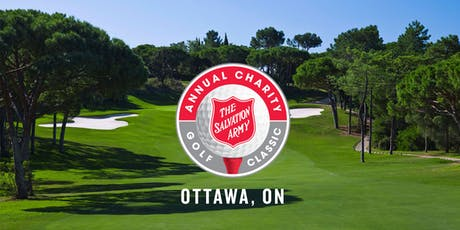 The Salvation Army Ottawa Annual Charity Golf Classic tickets