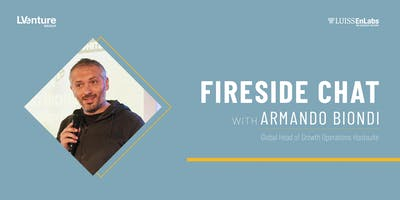Fireside chat with Armando Biondi
