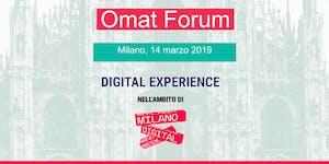OMAT Forum 2019 | Digital Week Milano