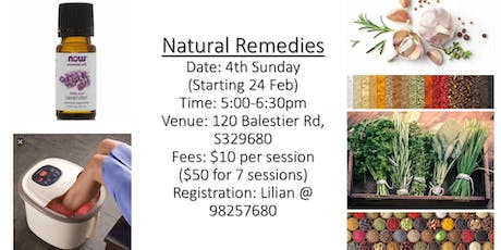 Natural Remedies tickets